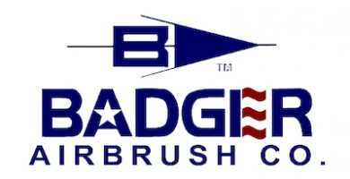 aerografo badger logotipo