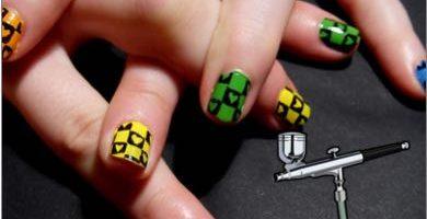aerografo para uñas